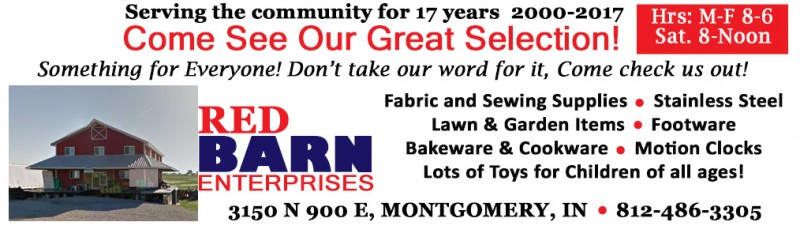 RED BARN ENTERPRISES AD AMISH 2017