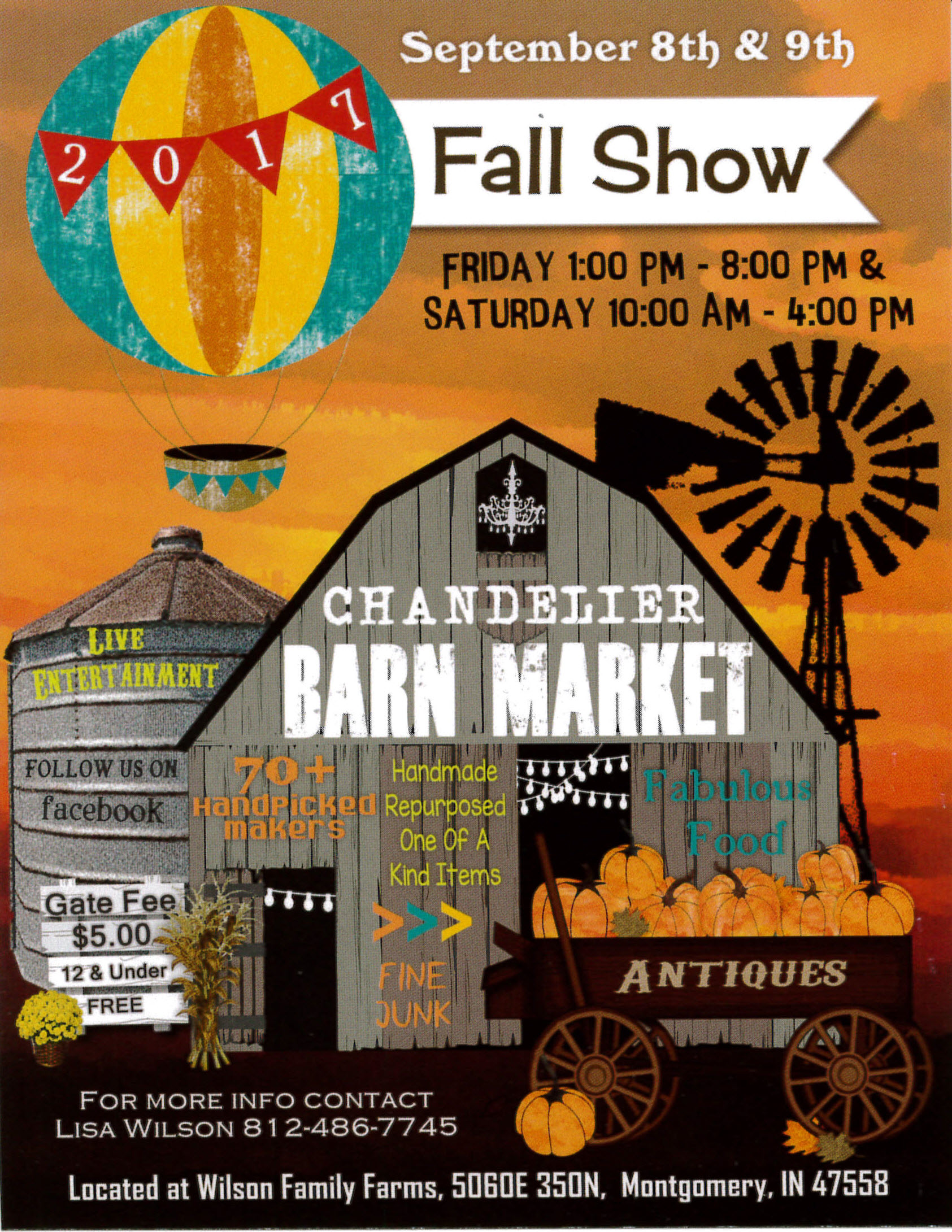 chandelier barn market 2017